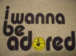 MENS RETRO THE STONE ROSES `I WANNA BE ADORED` LEMON T-SHIRT 4
